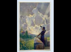 X1K73/ Der Türmer Monatsschrift für Gemüt und Geist AK 1911 Werbung