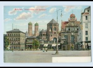 L522/ Synagoge in München Judaika AK ca.1900