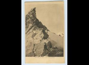 X1L93/ Pitztaler Jöchl gegen die Wildspitze Bergsteiger Sektion Braunschweig AK