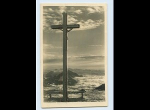 X1N43/ Kreuz am Sudelfeldkopf bei Bayrischzell Foto AK 1939