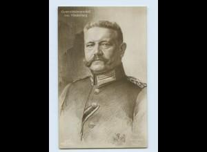 L502/ Generalfeldmarschall von Hindenburg Foto AK ca.1914