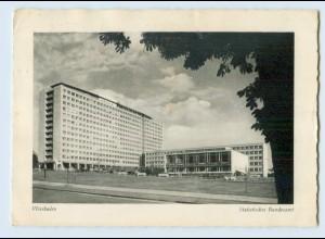 X1P15/ Wiesbaden Statistisches Bundesamt 1958 AK