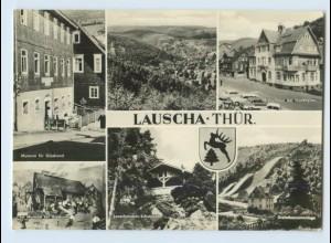 X1P80/ Lauscha Museum Kulturhaus AK
