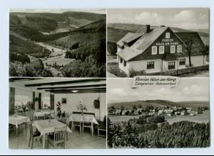 X1O28/ Langewiese Winterberg Pension Haus am Hang 1966 AK