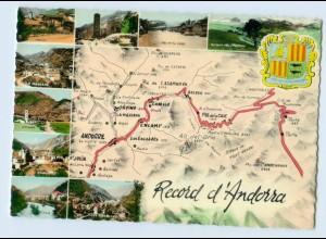 X1N38/ Andorra schöne AK ca.1960