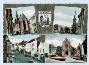 X1P58/ St.Wendel Saar Kirche AK