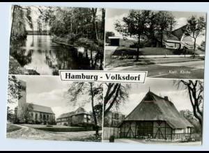 X1M23/ Hamburg Volksdorf Kirche Jugendheim AK