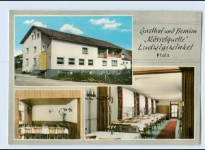 """X1P68/ Ludwigswinkel Gasthof """"Rösselquelle"""" AK"""