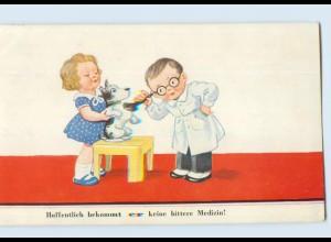 X1R59/ John Wills AK Kind als Tierarzt 1938