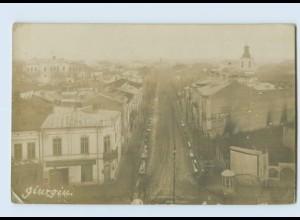 M016/ Giurgiu Rumänien Foto AK ca.1915