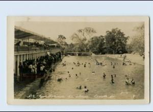 N2709/ Cuautla Mexico Agua Hedionda Foto AK 1931 Schwimmbad