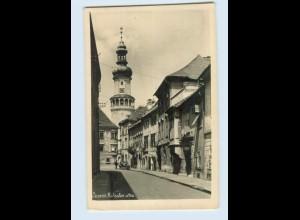 M023/ Sopron Kolostor utca Ungarn Foto AK 1935