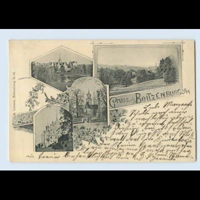 L811-172./ Boitzenburger Land Gruß aus Boitzenburg 1900 AK