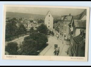 M266-073./ Saalfeld Saale Blick auf Alt-Saalfeld AK