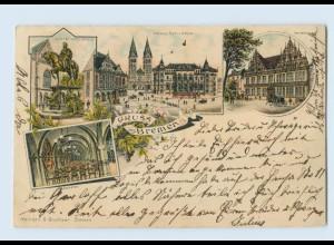 M230/ Bremen Gruß aus Bremen 1898 Litho AK