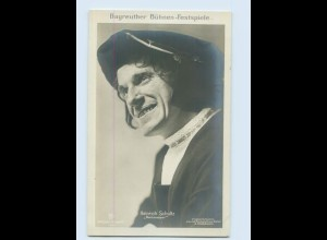 X1S41/ Bayreuther Bühnen-Festspiele Heinrich Schultz Foto AK ca.1910