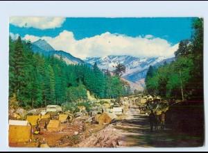 X1T05/ Manali Himachal Pradesh Indien AK 1970