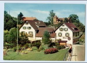 X1T04/ Sasbachwalden Hotel Talmühle AK ca.1970