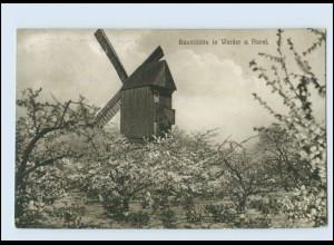 M696-145./ Werder a. Havel Windmühle AK 1916