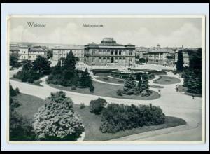 M887-994./ Weimar Museumsplatz 1937 AK