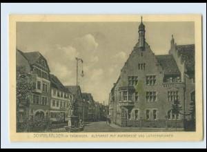 M885-985./ Schmalkalden Altmarkt Lutherbrunnen AK