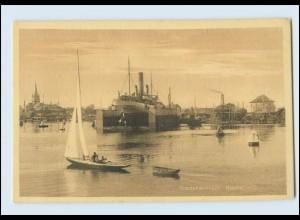 M977/ Frederikshavn Hafen AK ca.1912