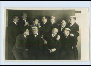 M981/ Studenten Studentika schöne Foto AK ca.1920