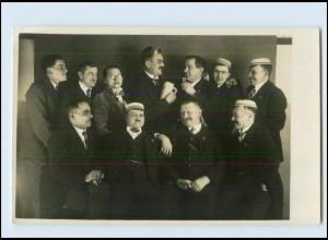 M982/ Studenten Studentika schöne Foto AK ca.1920