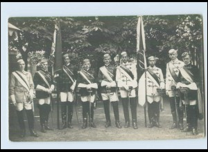 N210/ Studentika Studenten schöne Foto AK ca.1912