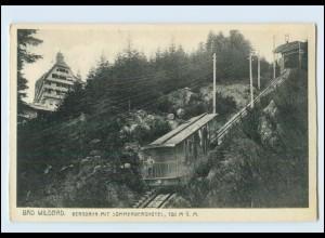 Y11911/ Bad Wildbad Bergbahn Drahtseilbahn AK ca.1930