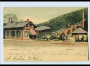 Y135/ Wiesbaden Nerobergbahn 1905 AK