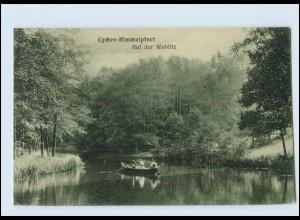 Y162/ Lychen-Himmelpfort Auf der Woblitz 1916 AK