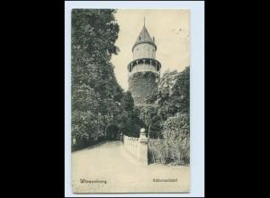 Y231/ Wiesenburg Schloßauffahrt AK 1909