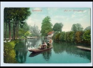 Y146/ Spreewald Auf der Gorroschoa 1909 AK