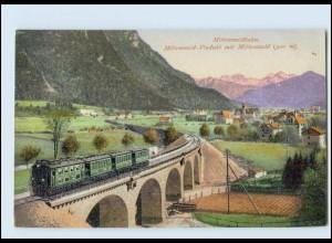 Y226/ Mittenwaldbahn Mittenwald-Viadukt AK ca.1915