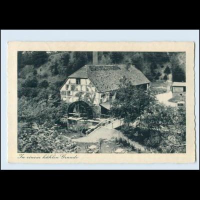 Y227-172./ Klosterwalder Wassermühle bei Templin AK 1939