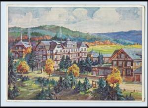 Y335/ Oberhof Thür. Heinrich Lorenz-Stiftung AK 1929
