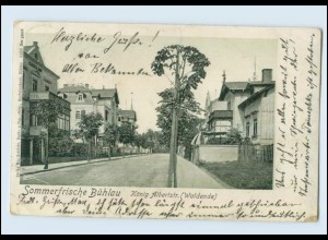 Y428/ Bühlau Dresden König Alberstr. AK 1905