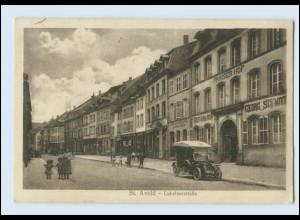 Y327/ St. Avold Lothringen Lubelnerstr. AK 1917