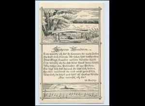 Y355/ Sicheres Wandern Gedicht schöne AK 1916