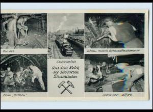 N514/ Bergbau Zeche AK 1961 Stempel: Lünen