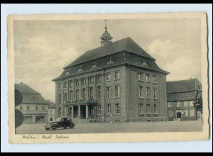N521-171./ Malchin i. Meckl. Rathaus AK 1944