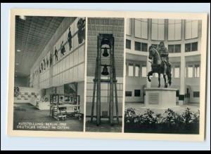 N666/ Berlin Ausstellung Berlin 1950 Foto AK