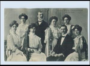 Y397/ Original Wiener Damen-Orchester AK 1906