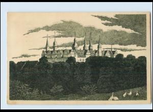N820-062./ Merseburg Schloß AK 1912