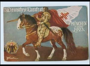 Y442/ München 13. Deutsches Turnfest 1923 AK