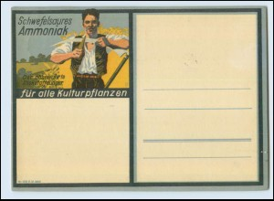 N2695/ Schwefelsaures Ammoniak Reklame Landwirtschaft AK 1931