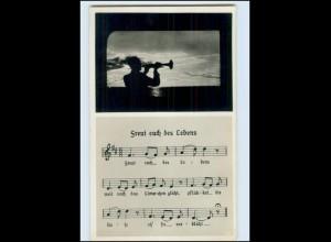 """Y493/ Lieder AK """"Freut euch des Lebens"""" Foto AK ca.1935"""