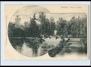 N1299/ Santiago de Chile Parque Cousiño AK ca. 1900