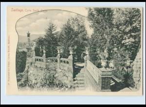 N1320/ Santiago de Chile Cerro Santa Lucia AK ca. 1900